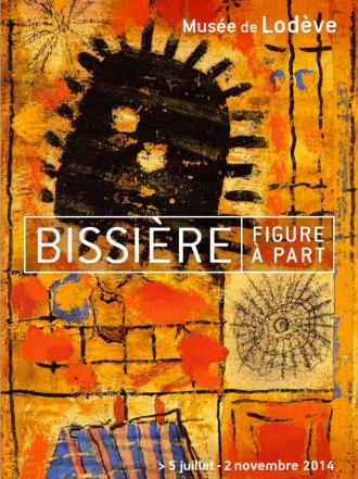 """Affiche exposition """"Bissière, figure à part"""""""
