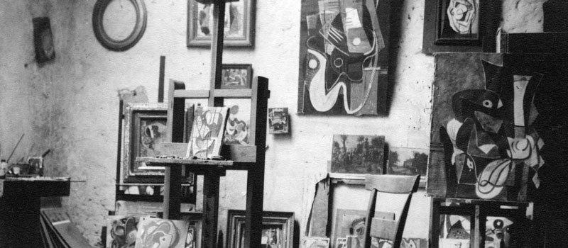 L'atelier de Bissière à Boissièrette, 1933