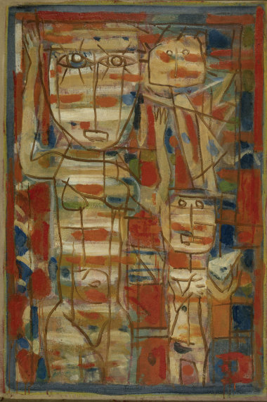 Vénus Blanche, 1946 - Huile sur toile, 110 x 76 cm - Fondation Gandur pour l'Art, Genève - Bissière cat. raisonné n° 1373