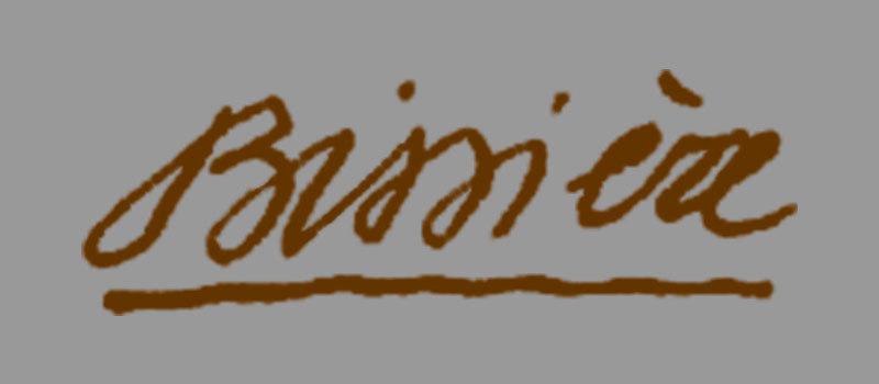 La signature de Bissière